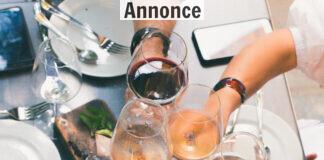 Tøsemiddag med hvidvin