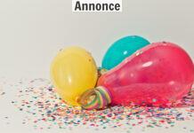 balloner og festpynt